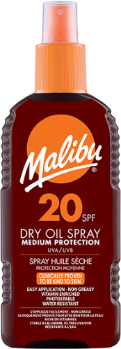 SPF20 Dry Oil Spray